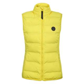 ICEPEAK ALBIA Steppweste Damen yellow