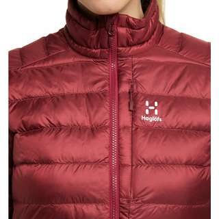Haglöfs Roc Down Jacket Outdoorjacke Damen Brick Red