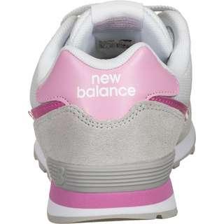 NEW BALANCE 574 Sneaker Kinder grau/pink