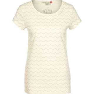 Ragwear Mint Chevron T-Shirt Damen weiß