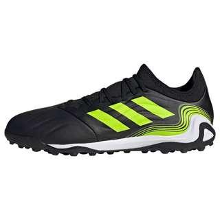 adidas Copa Sense.3 TF Fußballschuh Fußballschuhe Herren Core Black / Cloud White / Solar Yellow