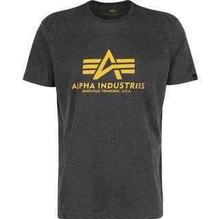 Alpha Industries Basic T-Shirt Herren grau/meliert
