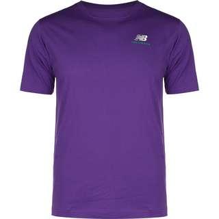 NEW BALANCE Essentials Embriodered T-Shirt Herren lila