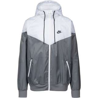 Nike NSW Windrunner Nylonjacke Herren smoke grey-white-smoke grey-black