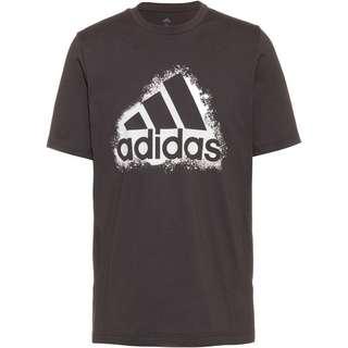 adidas Essentials T-Shirt Herren dgh solid grey-white