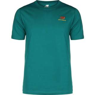 NEW BALANCE Essentials Embriodered T-Shirt Herren türkis
