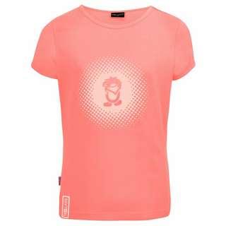 Trollkids Logo T-Shirt Kinder Rosa