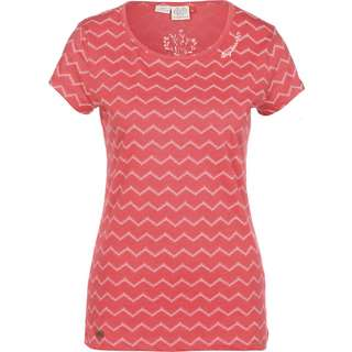 Ragwear Mint Chevron T-Shirt Damen rot