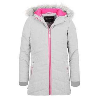 Trollkids Lifjell Winterjacke Kinder Weiß meliert / Pink