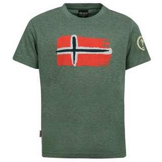 Trollkids Oslo T-Shirt Kinder Khakigrün
