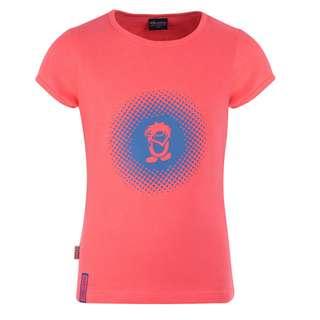 Trollkids Logo T-Shirt Kinder Rosa / Blau