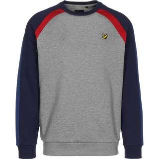 Lyle & Scott Three Panel Sweatshirt Herren grau/meliert