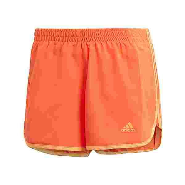 adidas Marathon 20 Cooler Shorts Funktionsshorts Damen True Orange / Hazy Orange