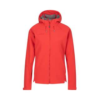 Mammut Sapuen Hooded Softshelljacke Damen sunset