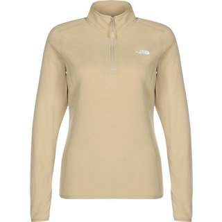The North Face 100 Glacier 1/4 Fleecepullover Damen beige