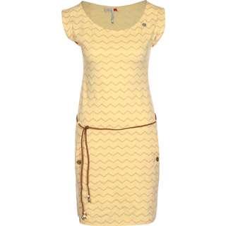 Ragwear Tag Chevron Kleid Damen gelb