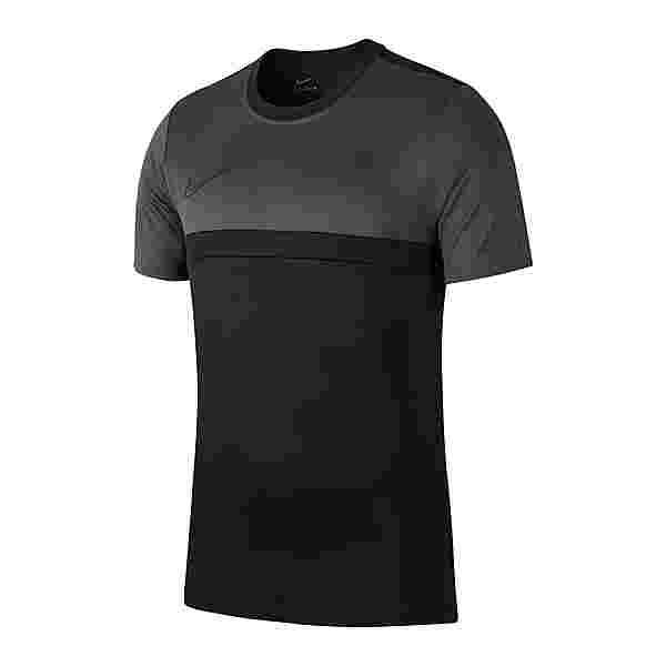 Nike Academy Pro T-Shirt Shirt Funktionsshirt Herren schwarzgrau