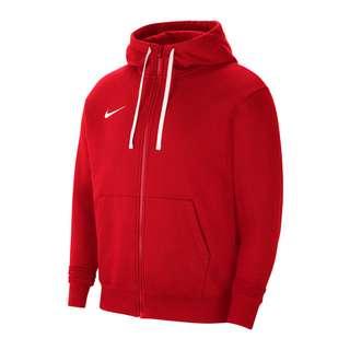 Nike Park 20 Fleece Kapuzenjacke Trainingsjacke Herren rotweiss