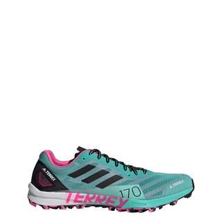 adidas TERREX Speed Pro Trailrunning-Schuh Laufschuhe Damen Acid Mint / Core Black / Screaming Pink