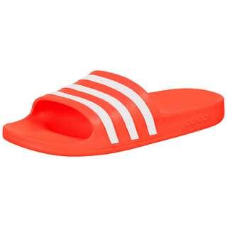 adidas Aqua Sandalen Damen orange / weiß