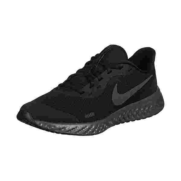 Nike Revolution 5 Laufschuhe Kinder black/white-university red-game royal