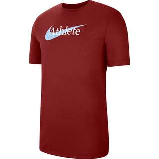 Nike Athlete Funktionsshirt Herren dark cayenne