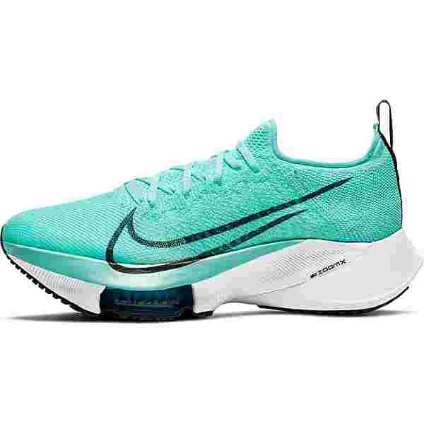 Nike Air Zoom Tempo Next% Laufschuhe Damen hyper turq-black-chlorine blue-white