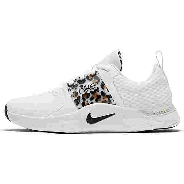 Nike Renew In-Season TR 10 Premium Fitnessschuhe Damen white-black-light bone-wheat