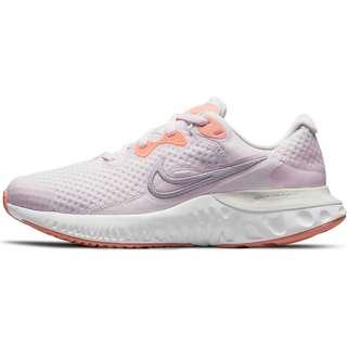 Nike RENEW RUN 2 Laufschuhe Kinder light violet/mtlc platinum-crimson bliss