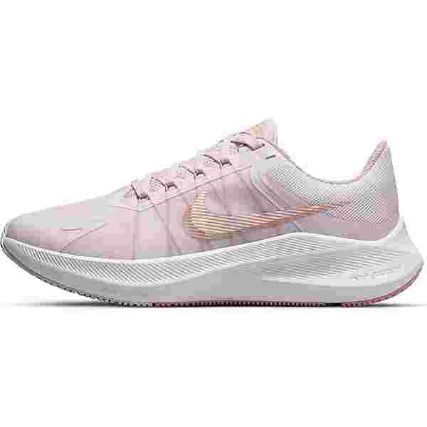 Nike Winflo 8 Laufschuhe Damen light violet-mtlc red bronze-champagne