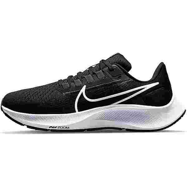 Nike Air Zoom Pegasus 38 Laufschuhe Damen black-white-anthracite-volt