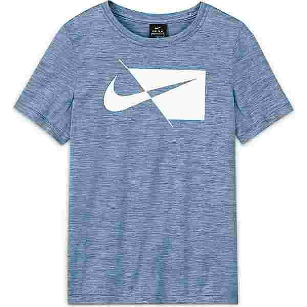 Nike DRI-FIT Funktionsshirt Kinder psychic blue-white