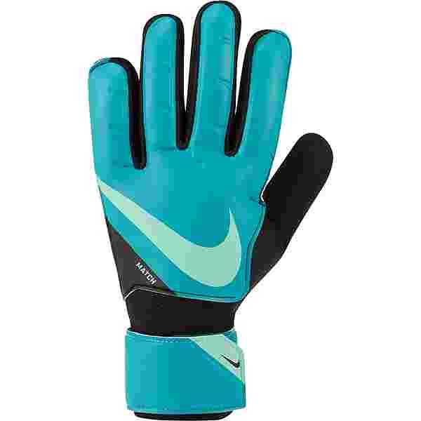 Nike Match Torwarthandschuhe aquamarine-black-green glow