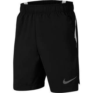 Nike Funktionsshorts Kinder black-white-reflect silver