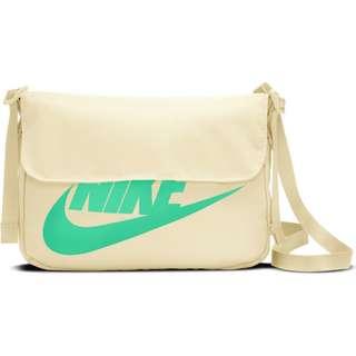 Nike NSW Futura 365 Umhängetasche coconut milk-coconut milk-green glow