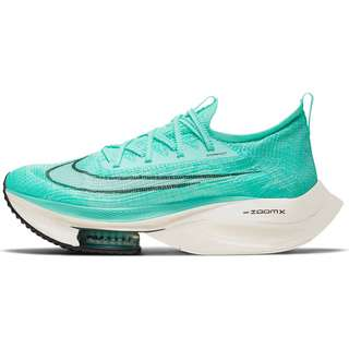 Nike Air Zoom Alphafly Next% Laufschuhe Herren hyper turq-white-black-oracle aqua