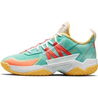 Nike One Take II Basketballschuhe Herren tropical twist-turf orange-citron pulse