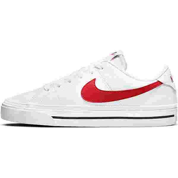 Nike Court Legacy Sneaker Herren white-university red-black