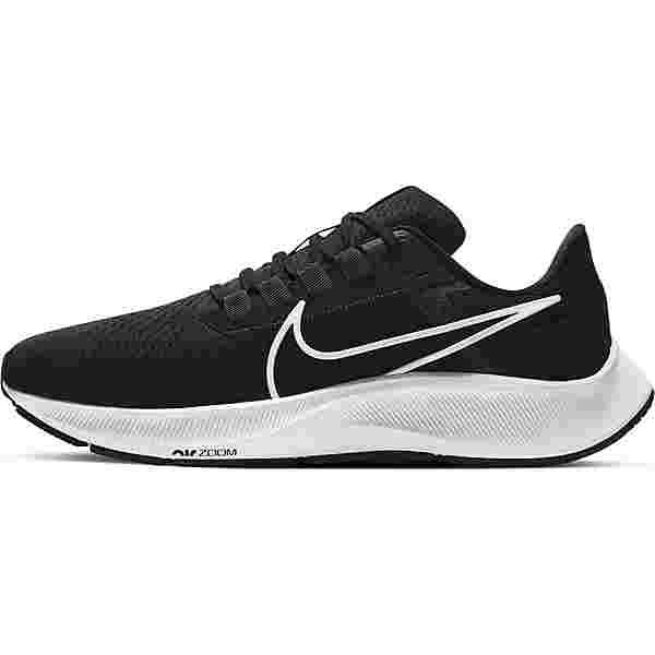 Nike Pegasus 38 Laufschuhe Herren black-white-anthracite volt