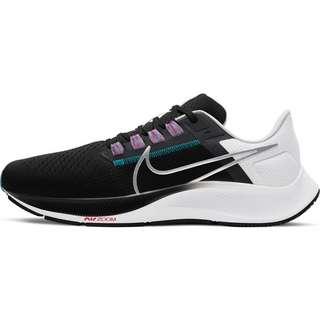 Nike Pegasus 38 Laufschuhe Herren black-metallic silver-white