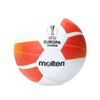 MOLTEN UEFA Europa League 20/21 Spielball Fußball weissorangeschwarz