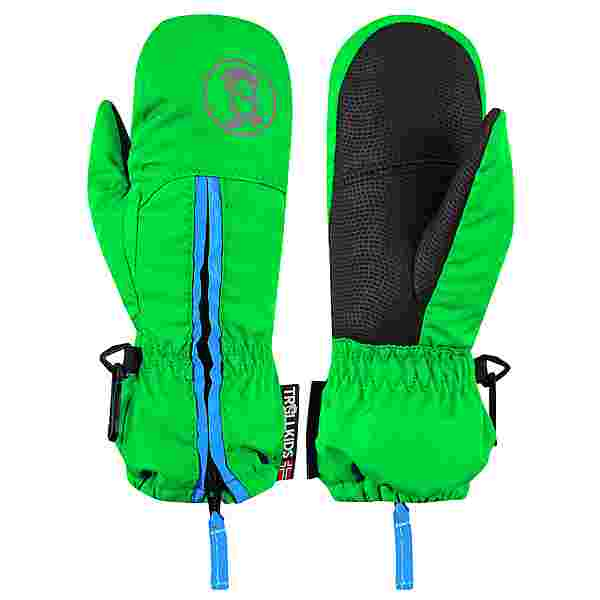 Trollkids Troll Skihandschuhe Kinder Hellgrün / Blau