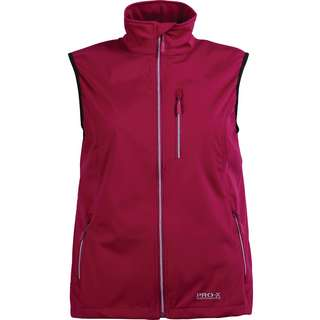 PRO-X-elements SINA Softshelljacke Damen berry
