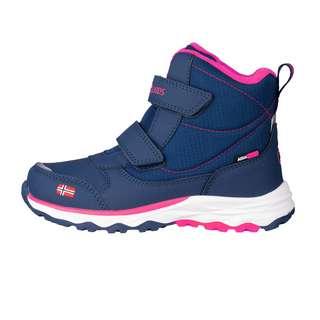 Trollkids Hafjell Winterschuhe Kinder Marineblau/Pink