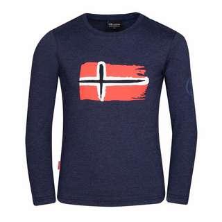Trollkids Oslo Longshirt Kinder Marineblau