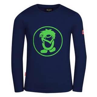 Trollkids Troll Longshirt Kinder Marineblau/Grün