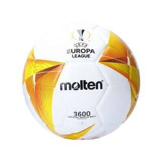 MOLTEN Europa League 20/21 Trainingsball Fußball weissorangeschwarz