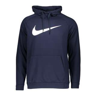 Nike Dri-FIT Swoosh Hoody Funktionssweatshirt Herren blauweiss