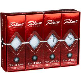 Titleist TruFeel Golfball white