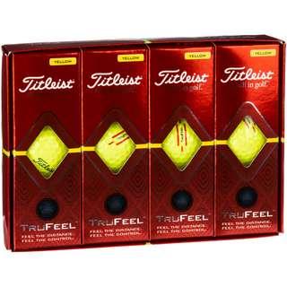 Titleist TruFeel Golfball yellow